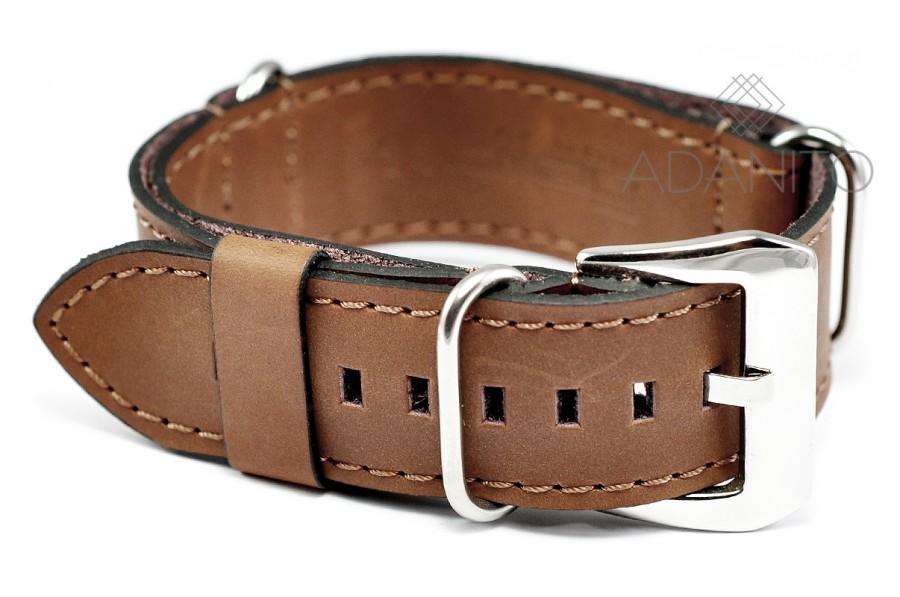 Kožený Nato remienok na hodinky - DILOY 385.22.3 afa82f493e