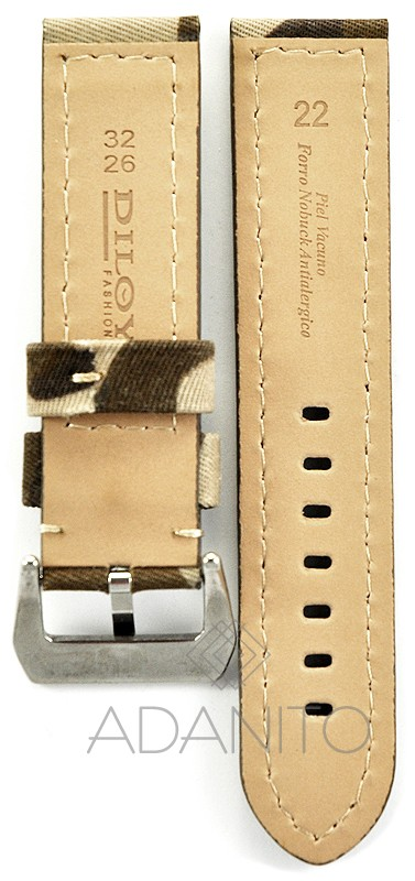 Kožený remienok na hodinky Fashion - DILOY 370.22.17 6ffb1fda2b