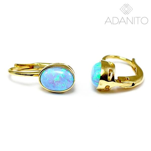 d562f5415 ... Zlaté opálové náušnice. ADANITO BRN0171G ADANITO BRN0171G