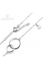 33283f1fa Zlatý náhrdelník z bieleho zlata. ADANITO BRNH0002S · ADANITO BRNH0002S