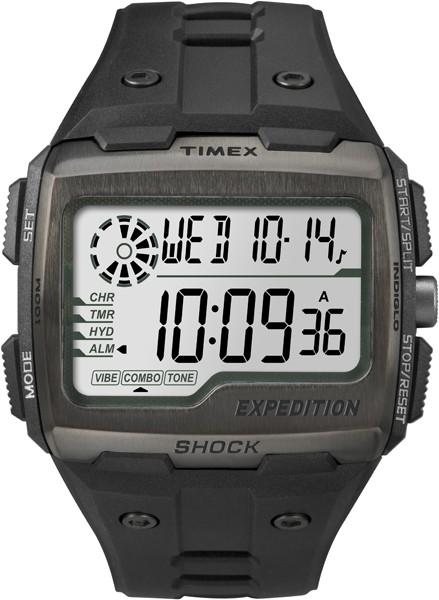 Hodinky s vibračným budíkom Expedition Grid Shock - TIMEX TW4B02500 68456be139